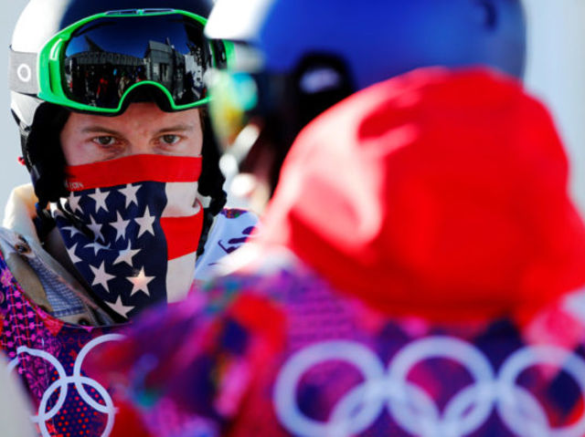 White had the highest score in Olympic half pipe history this year, what was his score?