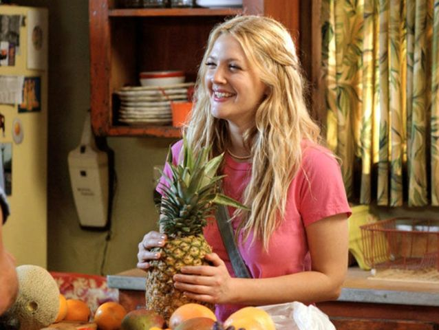 Who does Drew Barrymore play in 50 First Dates?