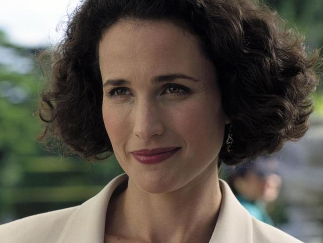 Who does Andie MacDowell play in Four Weddings and a Funeral?