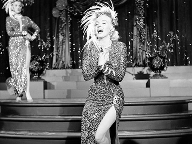 In This Photo Marilyn Monroe Performs A Little Girl From Rock On
