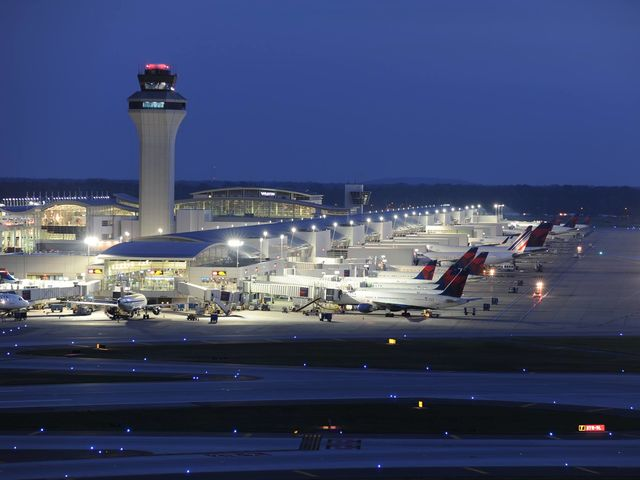 Detroit! This airport is Delta Air Lines' second-largest hub by flight count and serves as the primary gateway to Asia for the Eastern United States.
