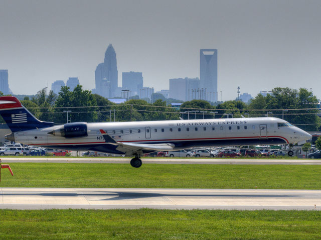 Charlotte! CLT is the largest airport in the United States without any nonstop service to Asia. The airport serves as a major gateway to the Caribbean Islands.