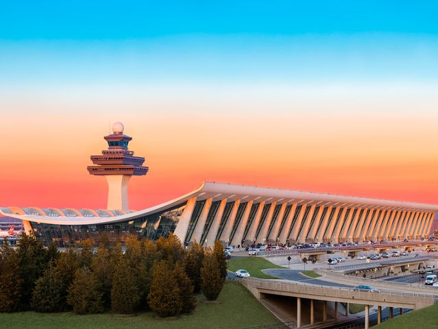 Where is Dulles Airport?