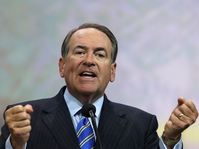 It's Mike Huckabee!