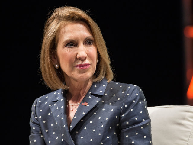 It's Carly Fiorina!