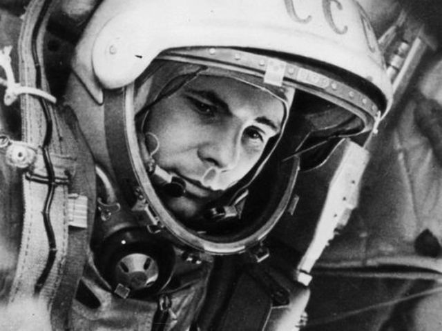 This is Yuri Gagarin, the first man in space (1961). He was from: