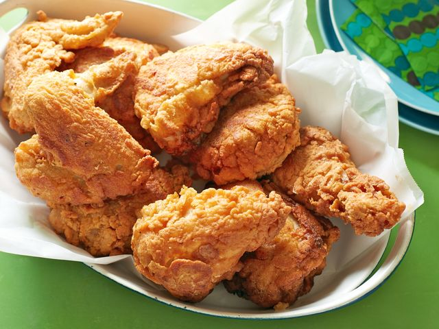 """Frying chicken always makes me feel a little better about life."""
