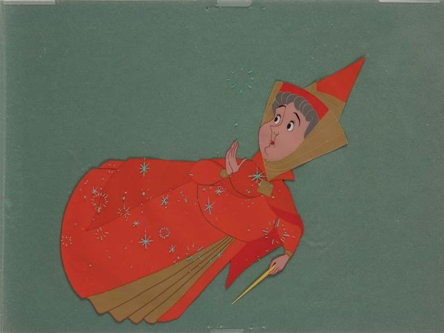 "It's Flora from ""Sleeping Beauty""!"