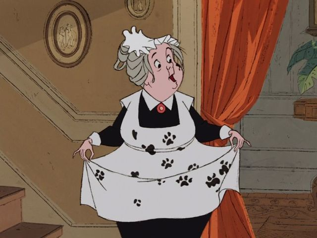 "It's Nanny from ""One Hundred And One Dalmatians""!"