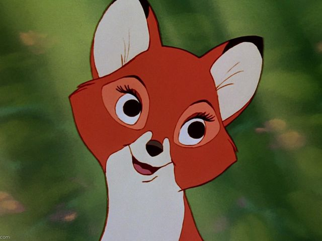 "It's Vixey from ""The Fox and the Hound""!"