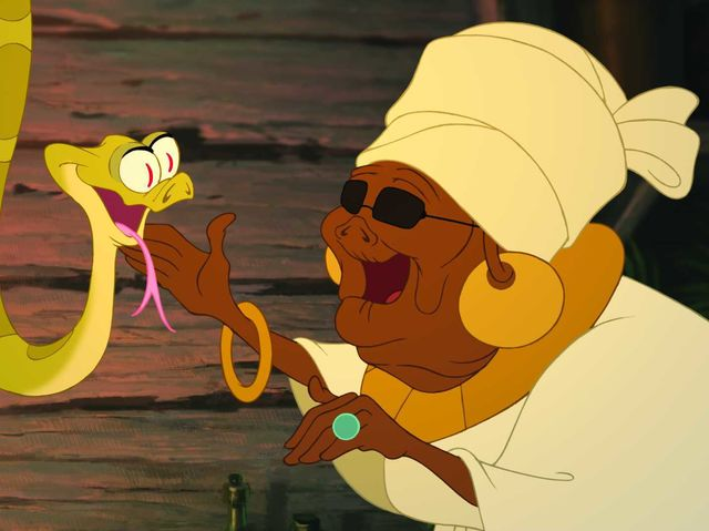 "It's Mama Odie from ""The Princess and the Frog""!"