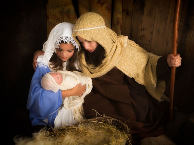 What made Joseph feel better about the baby?