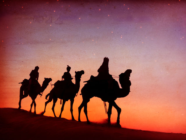 How did the Wise Men find the baby?