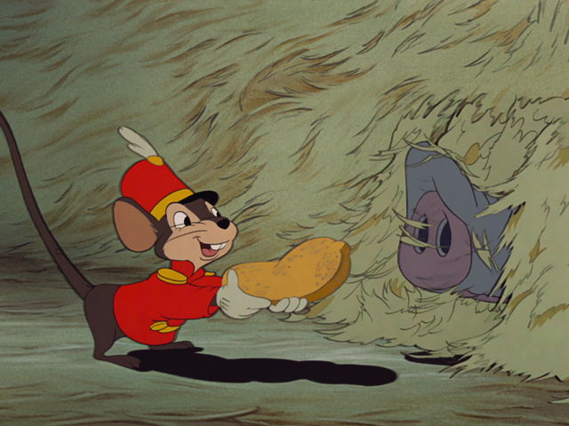Who is Timothy Q. Mouse's disproportionate friend?