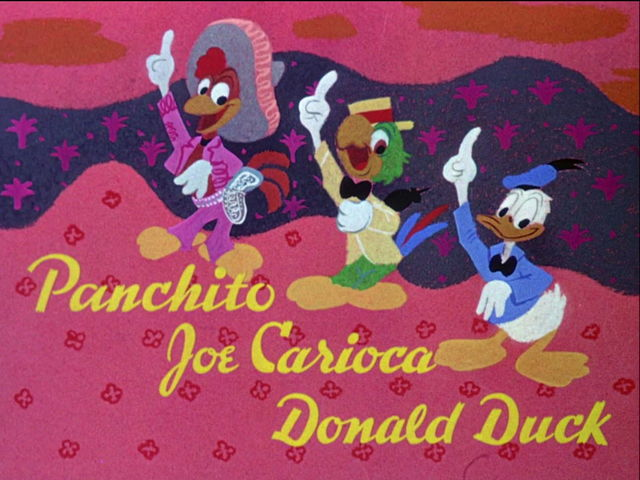 Which of these feathered fellows is NOT one of the Three Caballeros?