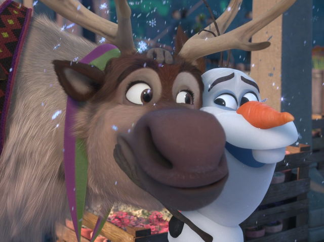 Who is Sven's best non-human friend?