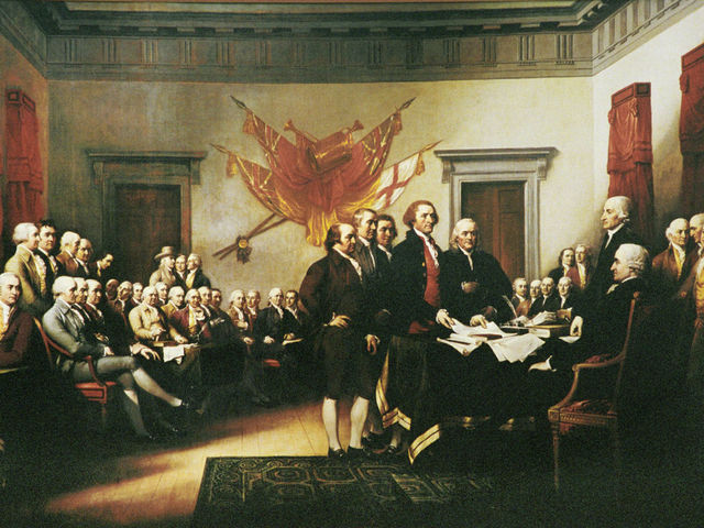 Which of these signed the Declaration of Independence?