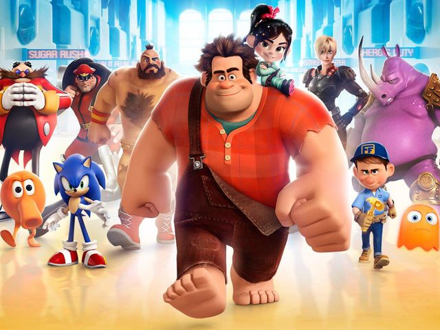 "Which studio made ""Wreck-It Ralph""?"