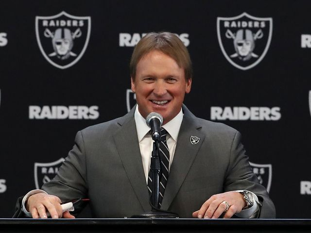 Who is the Oakland Raiders new head coach?