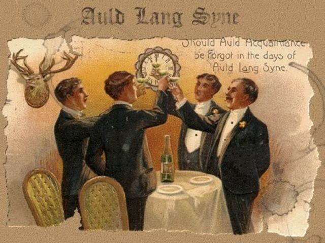 "What does the phrase ""auld lang syne"" translate to?"