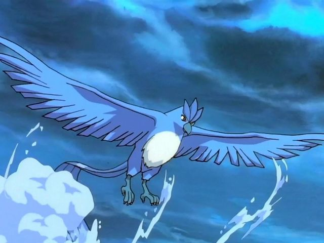 It was Articuno!