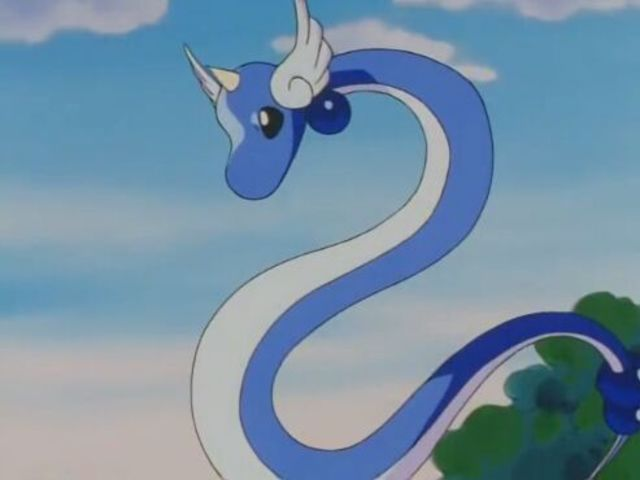 It was Dragonair!