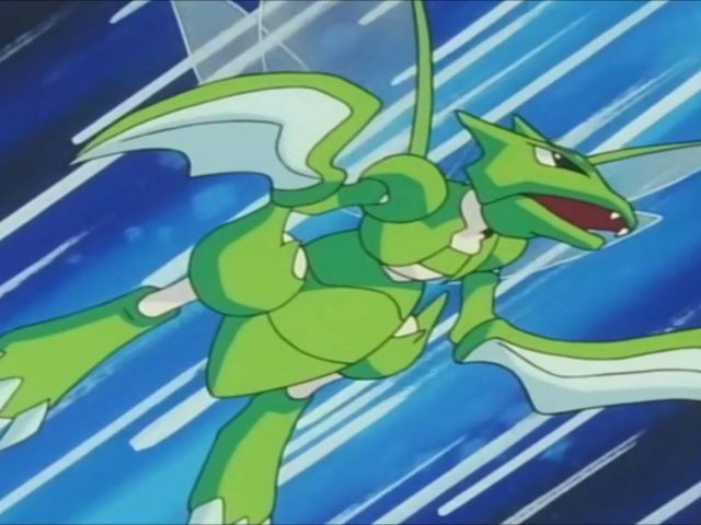 It was Scyther!