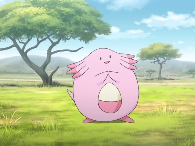 It was Chansey!