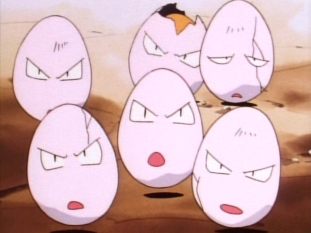 It was Exeggcute!