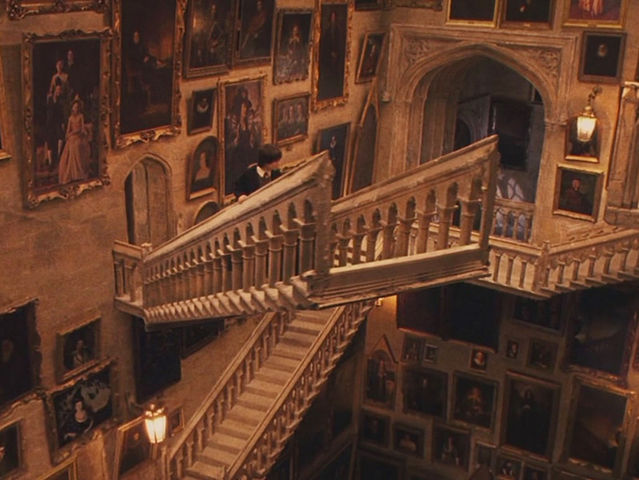 Hogwarts has 142 staircases!