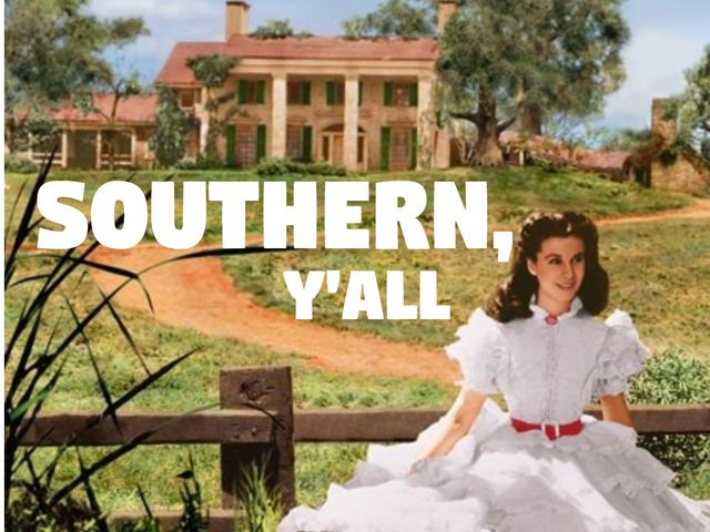 Yes yes, y'all! She's from Texas.