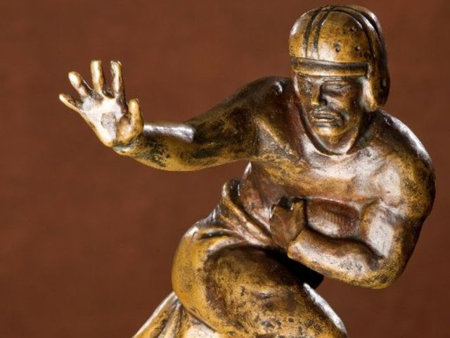 Who is the model for the Heisman trophy?