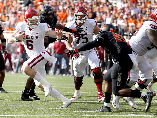 If favorite Baker Mayfield wins the trophy this year, he will be the first Senior since who to win?