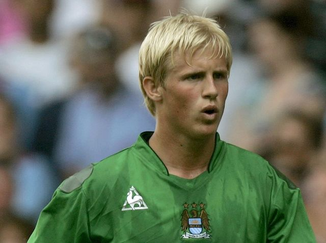 As well as a brief stint with Portugal's Estoril, Schmeichel spent the majority of his youth career with Manchester City.