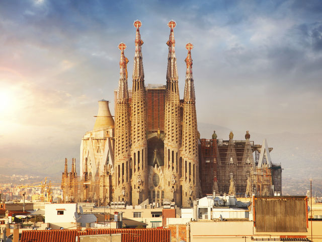 famous architecture buildings.  Architecture Construction Of Sagrada Famlia Commenced In Barcelona Spain 1882 Itu0027s  Considered The Greatest Work Throughout Famous Architecture Buildings