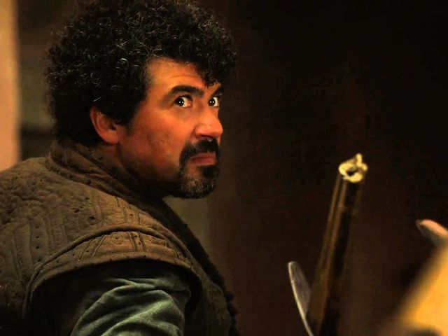 Of all the characters who may or may not have died off-screen, Syrio is my favourite. If also the most pretentious.