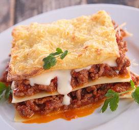 lasagne form klein