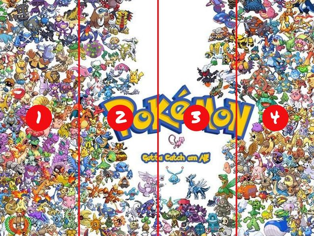 Which section is Pikachu hiding in? (Click the x in the corner of this textbox to see the full image.)