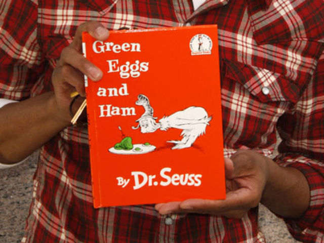 What prompted China to ban Dr Seuss' children's book Green Eggs and Ham?