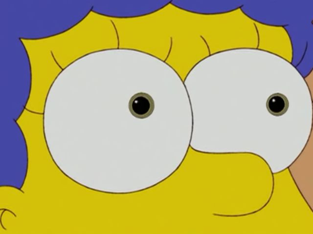 What is homer simpsons eye color