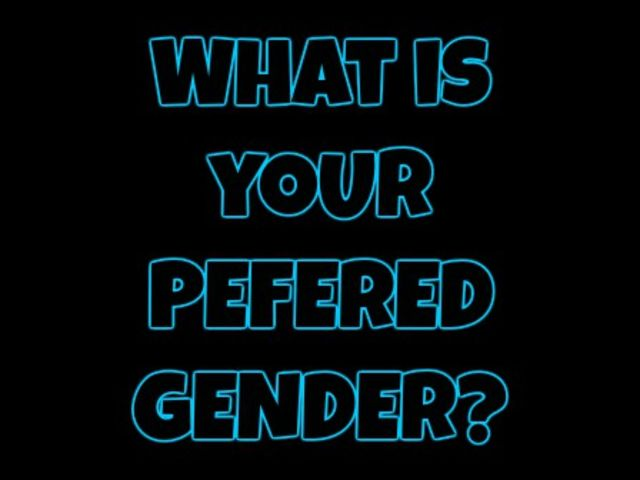 What is your preferred gender?