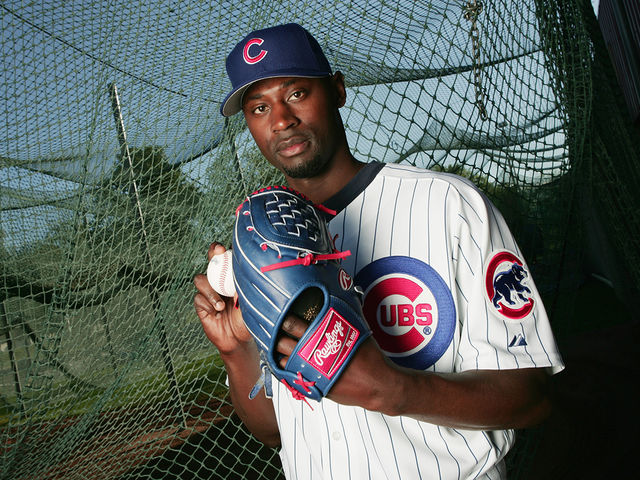 Hawkins played for the Cubs from 2004-05