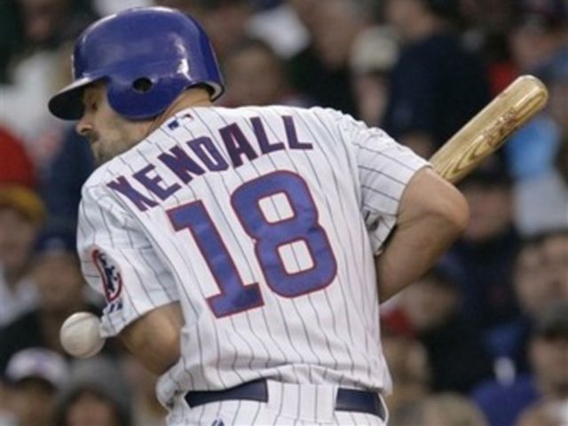 Kendall played for the Cubs in 2007