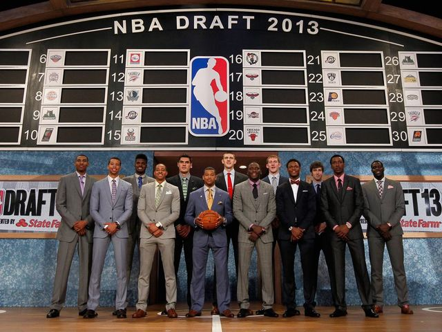 Who was selected with the 2nd pick in the 2013 NBA Draft?