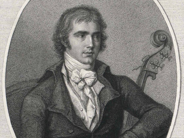 Domenico Dragonetti was a double bass virtuoso as well as a composer.