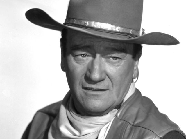 john wayne is big leggy