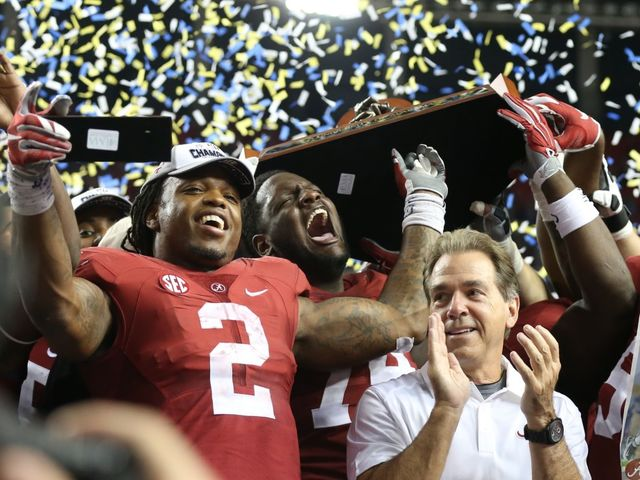 This Alabama team had the hardest schedule ever for a national champion: