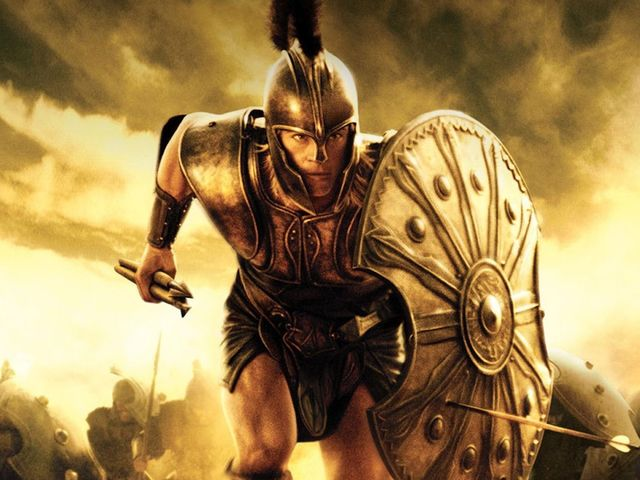 In Greek mythology, Achilles was a Greek hero of the Trojan war.