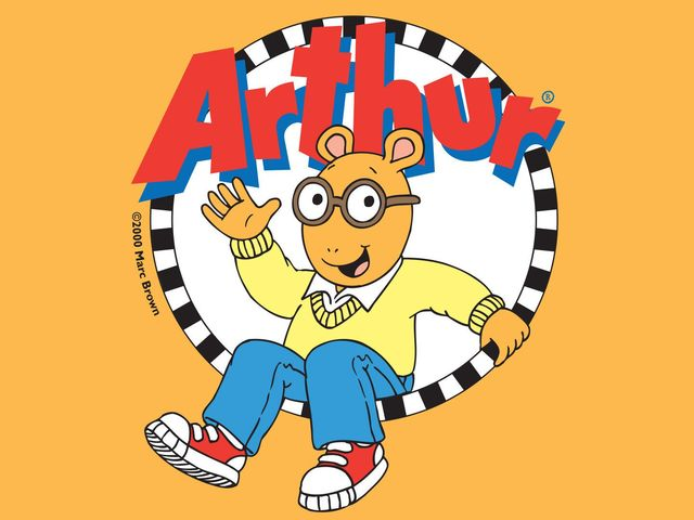 In Arthur, what's the name of Buster and Arthur's favorite superhero?