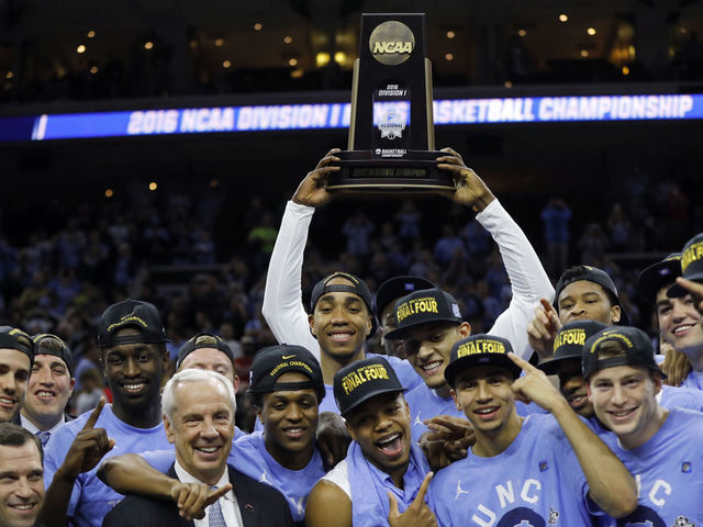 North Carolina made it to the championship game only to lose to Villanova; it was their first Final Four since they won the title in what year?